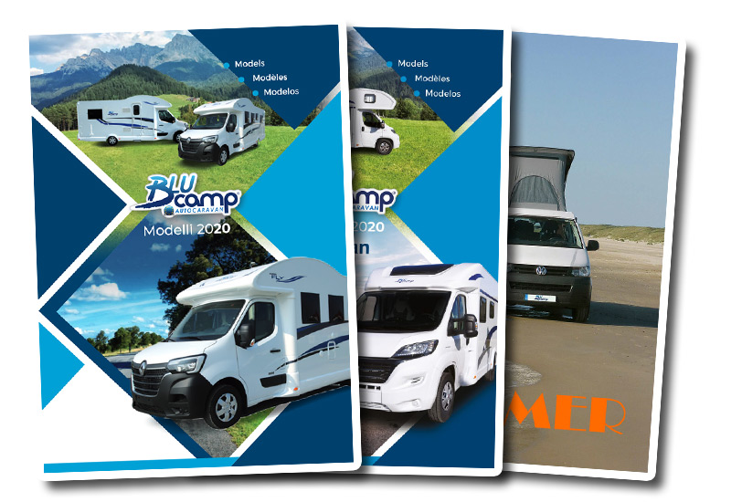 Blucamp Catalogues models 2020